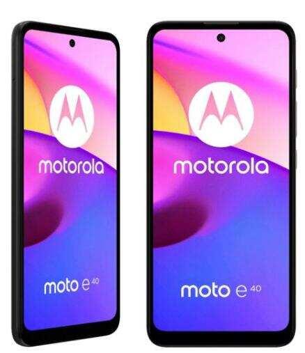 智能手机Moto E40的图像泄露