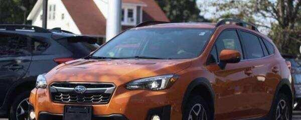 新斯巴鲁 Crosstrek现在在大多数城市中成为销售最快的汽车