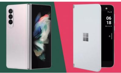 三星 Galaxy Z Fold 3与微软 Surface Duo哪款折叠屏最好